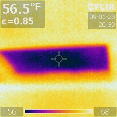 Infrared Attic Hatch