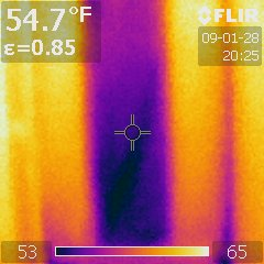Thermal Stud Bay Image
